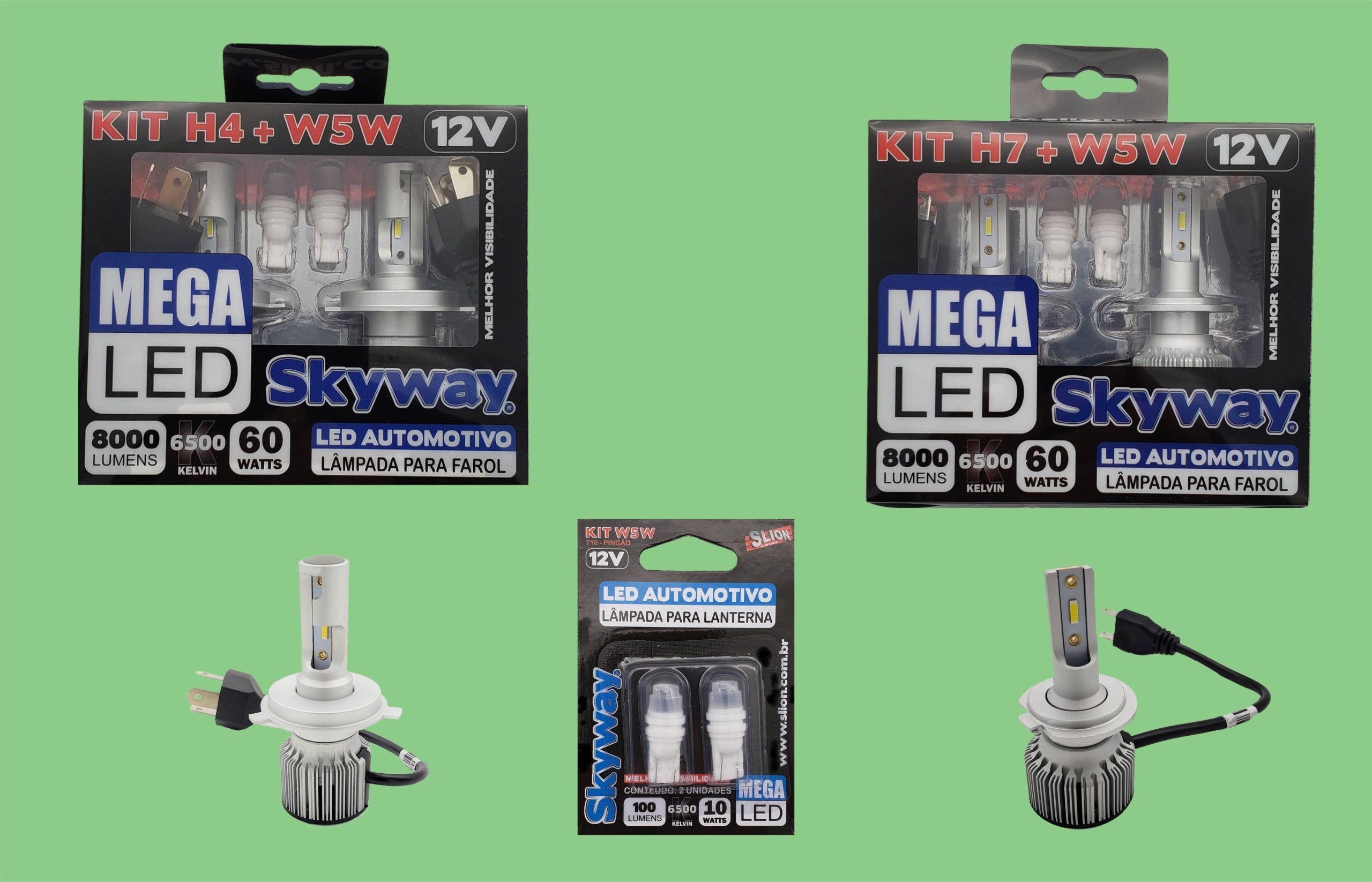 LED AUTOMOTIVO SKYWAY MEGA-LED
